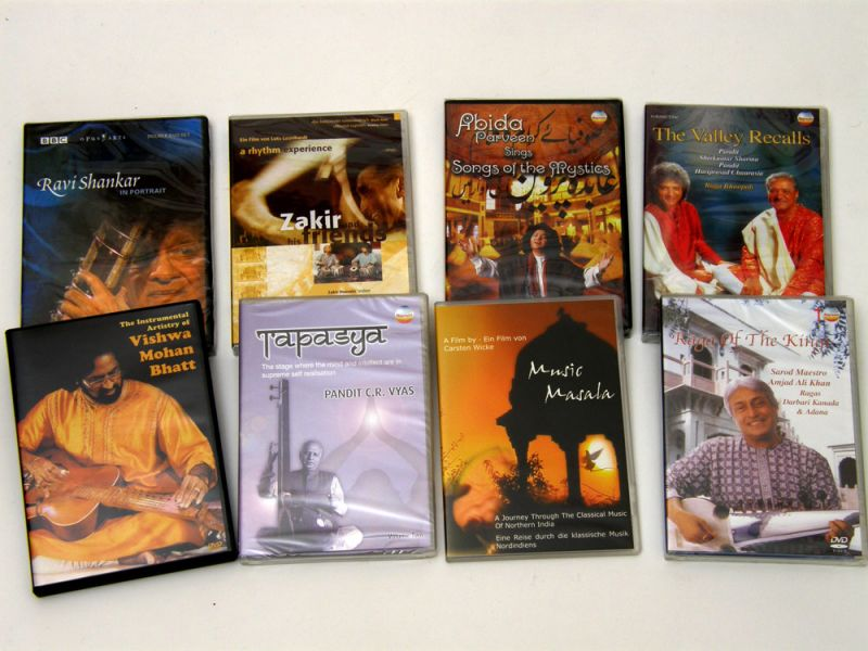 DVDs at India Instruments
